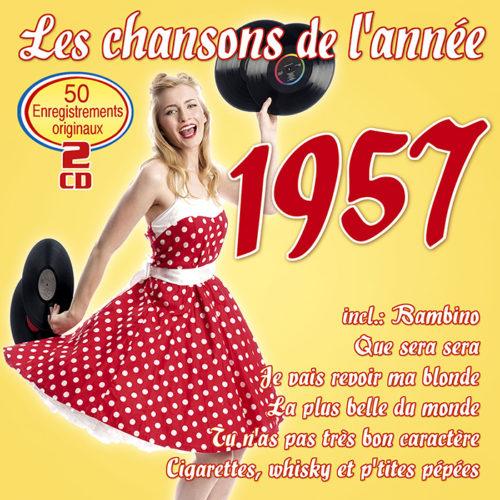 Les chansons de l'année 1957