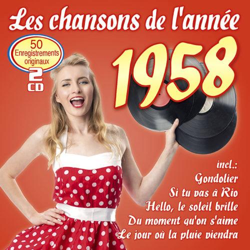 Les chansons de l'année 1958